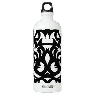 Shadow-cut art deco designer pattern by SPECT SIGG Traveler 1.0L Water Bottle
