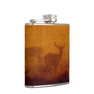 Shadow Deer Hip Flask