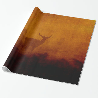 Shadow Deer Wrapping Paper