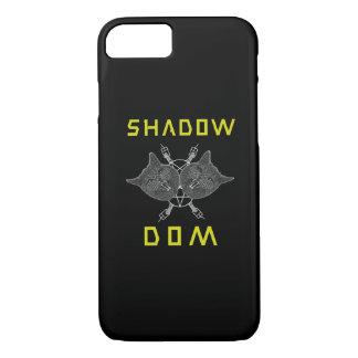 Shadow DOM Cat Metal iPhone case