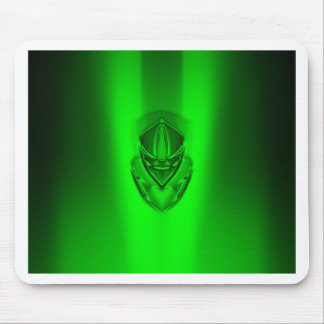 SHADOW DUCK GRUNGEGREEN BLACK MOUSE PAD