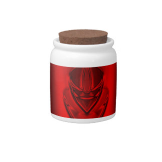 SHADOW DUCK RED CANDY JARS