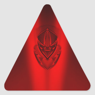 SHADOW DUCK RED TRIANGLE STICKER