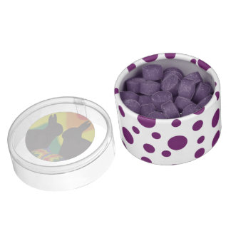 Shadow Easter Bunnies Chewing Gum Favors
