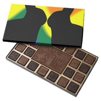 Shadow Easter Bunnies 45 Piece Box Of Chocolates