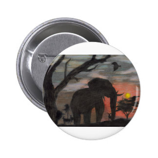 Shadow Elephant Button