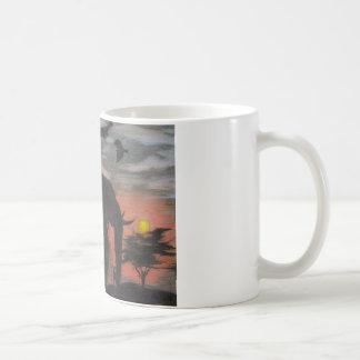 Shadow Elephant Coffee Mug