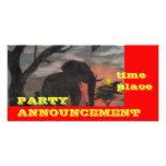 Shadow Elephant Photo card