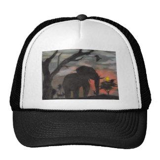 Shadow Elephant Trucker Hat