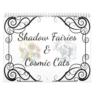 Shadow Fairies and Cosmic Cats Calendar