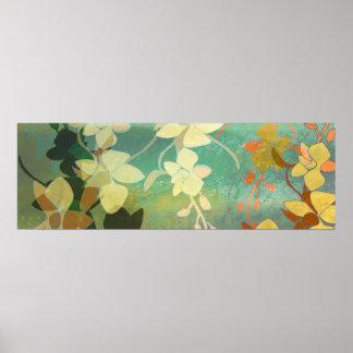 Shadow Florals Print