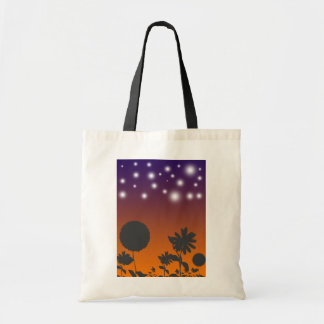 Shadow Flowers at Sunset Bag