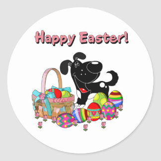Shadow Found the Easter Basket Sticker