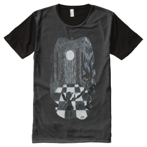 Shadow Friend All_Over_Print T_Shirt