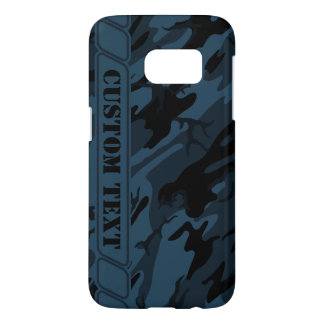 Shadow Gray Camo Phone Case w/ Custom Text
