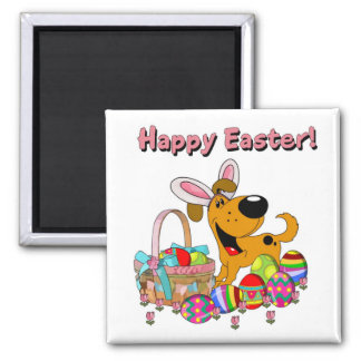 Shadow has Easter Bunny Ears! Magnet
