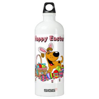 Shadow has Easter Bunny Ears! Water Bottle