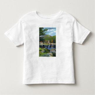 Shadow Lake Overshot Water Wheel View T-shirt