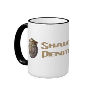 Shadow Lake Penitentiary Gold Ringer Mug