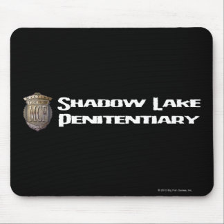 Shadow Lake Penitentiary White Mouse Pad