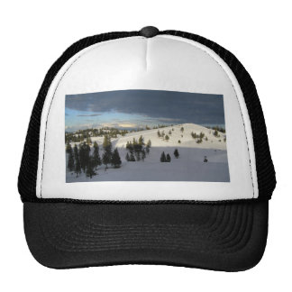Shadow line hat