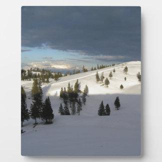 Shadow line photo plaques