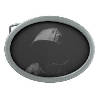 """Shadow Man"" Belt Buckle"