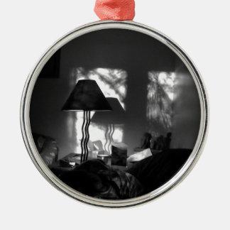 shadow metal ornament