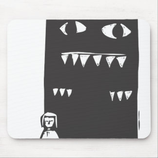 Shadow Monster Mouse Pad