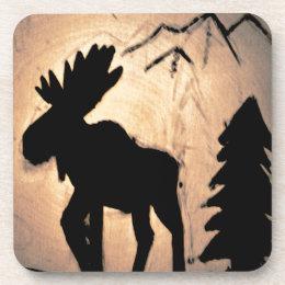 Shadow Moose Beverage Coaster