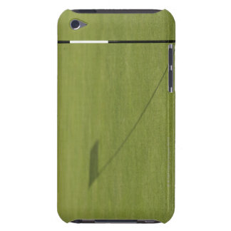 shadow of golf flag on golf course green barely there iPod cover