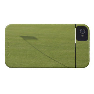 shadow of golf flag on golf course green Case-Mate iPhone 4 case
