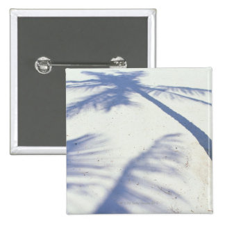 Shadow of Palm Tree 2 Pinback Button
