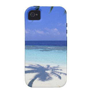 Shadow of Palm Tree iPhone 4 Covers