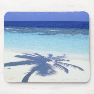 Shadow of Palm Tree Mouse Pad