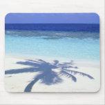 Shadow of Palm Tree Mousepad