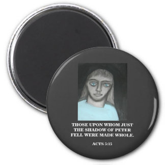 SHADOW OF PETER 2 INCH ROUND MAGNET
