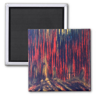 Shadow of Souls 2 Inch Square Magnet