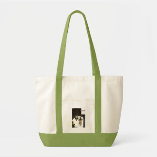 Shadow of the Lamp Tote Bags