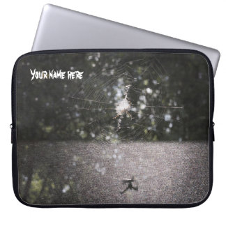 Shadow of the Orb Weaver Laptop Sleeve