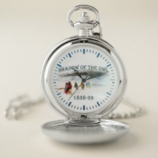 Shadow of the Owl 1838-39 Pocket Watch