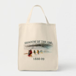 Shadow of the Owl 1838-39 Tote Bag