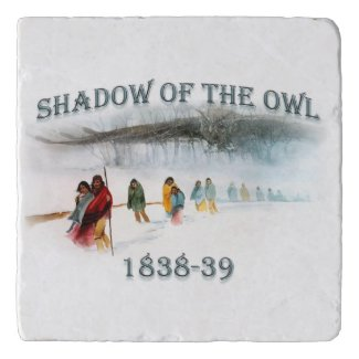 Shadow of the Owl 1838-39 Trivet