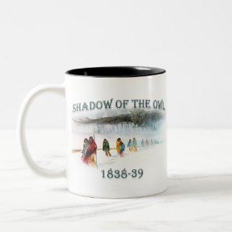 Shadow of the Owl 1838-39 Two-Tone Coffee Mug