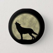 Shadow on the Moon 2 Pinback Button