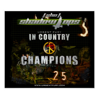 Shadow Ops In Country Championship Poster