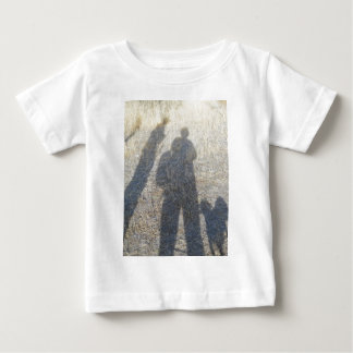 shadow people along the Oregon Ttrail Baby T-Shirt