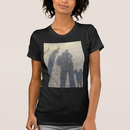 shadow people along the Oregon Ttrail T-Shirt