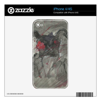 Shadow phone skin iPhone 4S skin