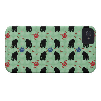 Shadow Poodle iPhone 4 Cover